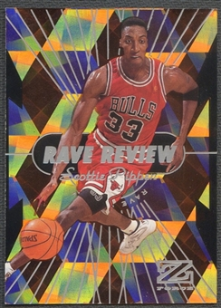 1997/98 Z-Force #11 Scottie Pippen Rave Reviews