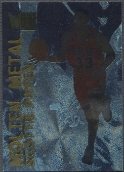 1996/97 Metal #24 Scottie Pippen Molten Metal