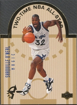 1993/94 Upper Deck #E13 Shaquille O'Neal SE Die Cut All-Stars