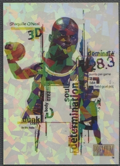 1998/99 SkyBox Premium #15 Shaquille O'Neal 3D's