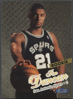 1997/98 Ultra #131 Tim Duncan Rookie Gold Medallion