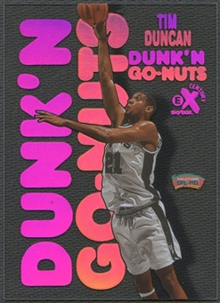 1998/99 E-X Century #4 Tim Duncan Dunk 'N Go Nuts