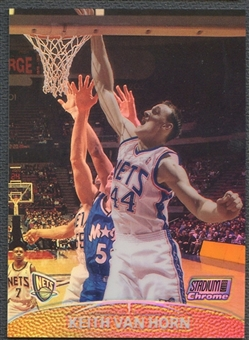1999/00 Stadium Club Chrome #24 Keith Van Horn First Day Issue Refractor #19/25