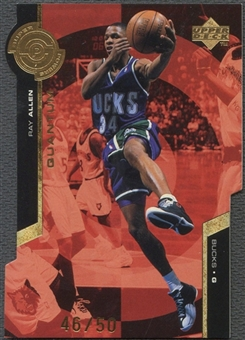 1998/99 Upper Deck #PS15 Ray Allen Super Powers Gold #46/50