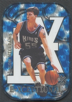 1999/00 E-X #XC1 Jason Williams E-Xceptional Blue #219/250