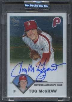 2003 Topps Retired #TMC Tug McGraw Signature Auto