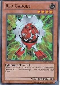 Yu-Gi-Oh Promo Single Red Gadget Super Rare TU08