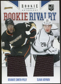2011/12 Panini Rookie Anthology Rookie Rivalry Dual Jerseys #1 Devante Smith-Pelly/Slava Voynov