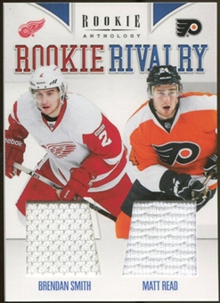 2011/12 Rookie Anthology Rookie Rivalry Dual Jerseys #57 Brendan Smith/Matt Read