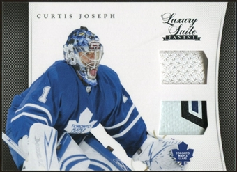 2011/12 Panini Luxury Suite #36 Curtis Joseph Jersey Stick