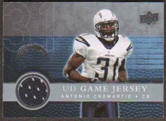 2008  Upper Deck Game Jerseys #UDGJAC Antonio Cromartie