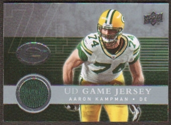 2008  Upper Deck Game Jerseys #UDGJAK Aaron Kampman