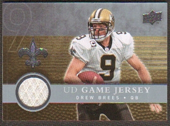 2008  Upper Deck Game Jerseys #UDGJDB Drew Brees