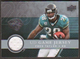 2008  Upper Deck Game Jerseys #UDGJFT Fred Taylor