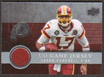 2008  Upper Deck Game Jerseys #UDGJJC Jason Campbell