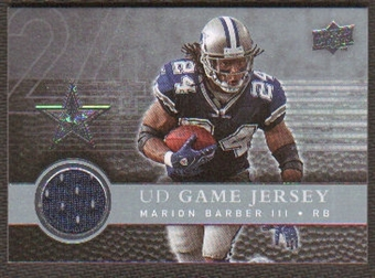 2008  Upper Deck Game Jerseys #UDGJMB Marion Barber