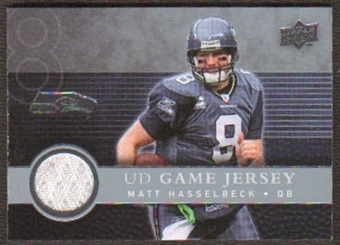 2008  Upper Deck Game Jerseys #UDGJMH Matt Hasselbeck