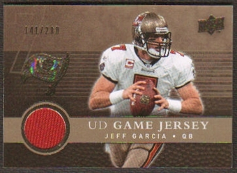2008 Upper Deck Game Jerseys Gold #UDGJJG Jeff Garcia /200