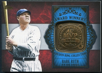 2012 Topps Babe Ruth Golden Ring Collection  #GAR-BR