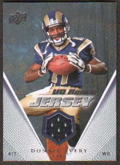 2008 Upper Deck Rookie Jerseys #UDRJDA Donnie Avery