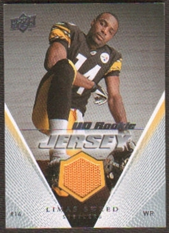 2008 Upper Deck Rookie Jerseys #UDRJLS Limas Sweed