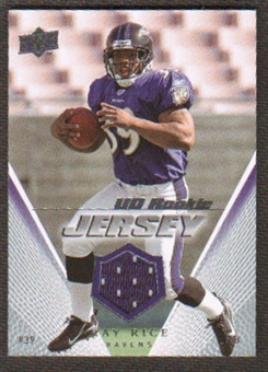 2008 Upper Deck Rookie Jerseys #UDRJRR Ray Rice