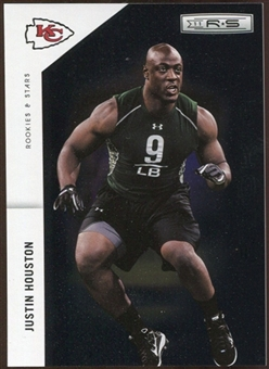 2011 Panini Rookies and Stars Longevity #204 Justin Houston