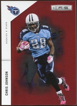 2011 Panini Rookies and Stars Longevity Ruby #143 Chris Johnson 101/150