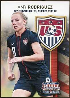 2012 Panini Americana Heroes and Legends US Women's Soccer #5 Amy Rodriguez
