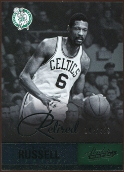 2012/13 Panini Absolute #112 Bill Russell 149/499