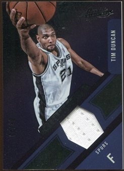 2012/13 Panini Absolute Frequent Flyer Materials #6 Tim Duncan 88/99