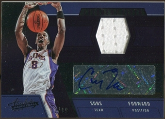 2012/13 Panini Absolute Frequent Flyer Materials Autographs #6 Channing Frye 18/99