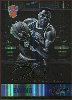 2012/13 Panini Absolute Spectrum Gold #132 Patrick Ewing 3/25