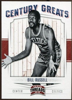2012/13 Panini Threads Century Greats #6 Bill Russell