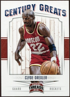 2012/13 Panini Threads Century Greats #20 Clyde Drexler