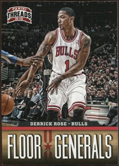 2012/13 Panini Threads Floor Generals #2 Derrick Rose