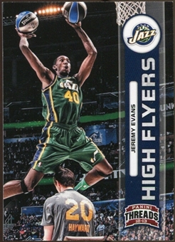 2012/13 Panini Threads High Flyers #12 Jeremy Evans