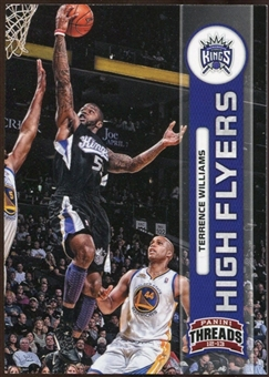 2012/13 Panini Threads High Flyers #28 Terrence Williams