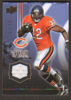 2008 Upper Deck Team Colors Jerseys Gold #TCCB Cedric Benson /299