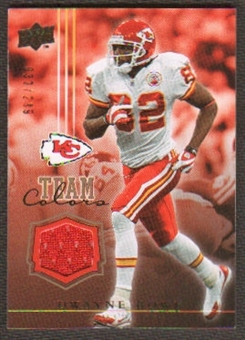 2008 Upper Deck Team Colors Jerseys Gold #TCDB Dwayne Bowe /299