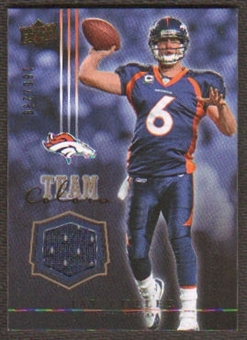 2008 Upper Deck Team Colors Jerseys Gold #TCJC Jay Cutler /299