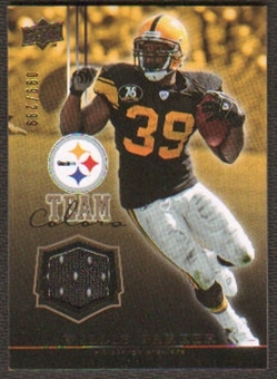 2008 Upper Deck Team Colors Jerseys Gold #TCWP Willie Parker /299