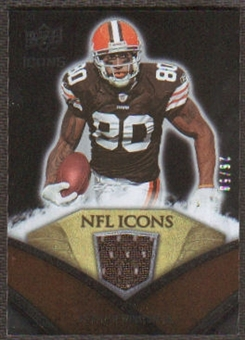 2008 Upper Deck Icons NFL Icons Jersey Gold #NFL9 Jamal Lewis /50