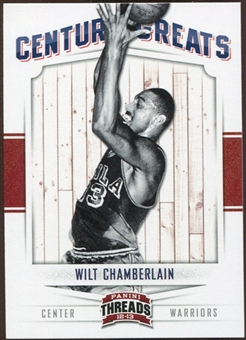 2012/13 Panini Threads Century Greats #10 Wilt Chamberlain