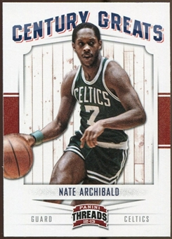 2012/13 Panini Threads Century Greats #18 Nate Archibald