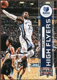 2012/13 Panini Threads High Flyers #3 Rudy Gay