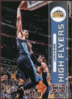 2012/13 Panini Threads High Flyers #6 JaVale McGee