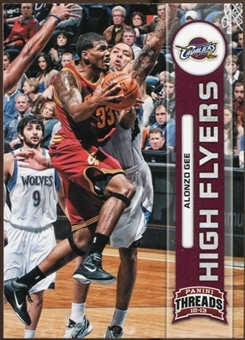 2012/13 Panini Threads High Flyers #15 Alonzo Gee