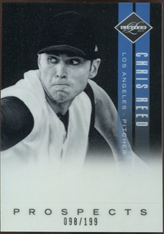 2011 Panini Limited Prospects OptiChrome #40 Chris Reed 98/199