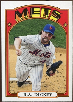 2013 Topps 1972 Topps Minis #TM27 R.A. Dickey